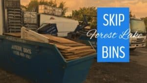 skip bin hire forest lake